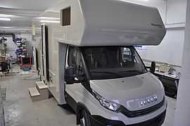 Iveco Daily Komplettausbau Front